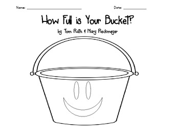 How Full is Your Bucket? Writing Activity