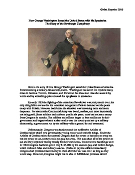 How George Washington Saved the US with his Spectacles- Story