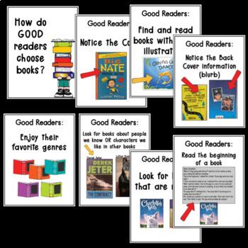 How Good Readers Choose Books ~ Editable
