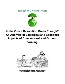 How Green is the Green Revolution?