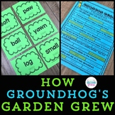 How Groundhog's Garden Grew  2nd Grade Lesson 25 (7 Centers) + Worksheets