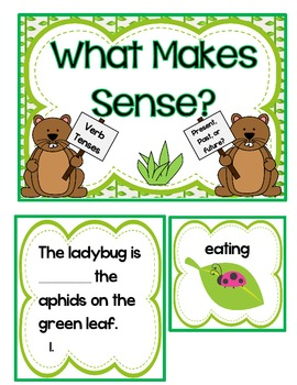 How Groundhog's Garden Grew- 7 Literacy Centers-Common Core Aligned