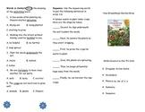 How Groundhog's Garden Grew Comprehension Tri-fold: Journeys Grade 2; Lesson 21