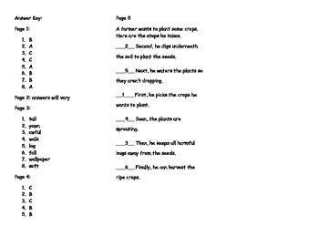 How Groundhog 39 S Garden Grew Comprehension Tri Fold Journeys Grade 2 Lesson 21