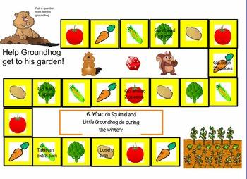 How Groundhog's Garden Grew Journey's flipchart (Promethean)