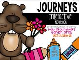 How Groundhog's Garden Grew Unit 5, Lesson 25 Journeys Print & Go