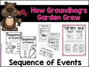 How Groundhog's Garden Grew Unit 5, Lesson 25 Journeys Print & Go