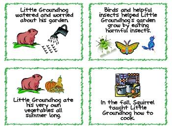 How Groundhog 39 S Garden Grew Sequencing And Procedural Activities