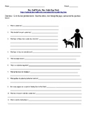How Guide Dogs Work- Internet Assignment for Health or Science