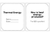How Heat Energy is Produced Booklet