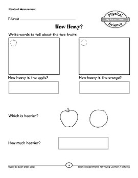 How Heavy? (Properties of Objects & Materials)