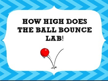 How High Does the Ball Bounce? Lab