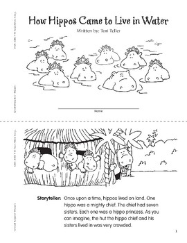 How Hippos Came to Live in Water (Leveled Readers' Theater, Grade 3)