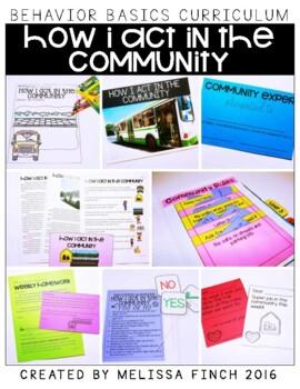 How I Act in the Community- Behavior Basics Program for Special Education