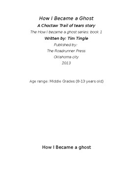 How I Became A Ghost - Quiz