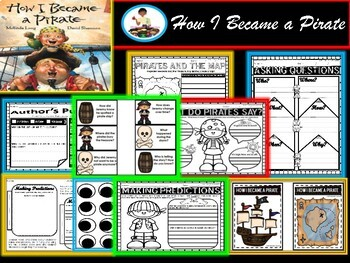 How I Became A Pirate {Book Companion and Pirate Craft)