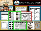 How I Became A Pirate {Book Companion and Pirate Craft) Pirate Day