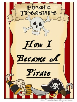 How I Became A Pirate Take Home Bag