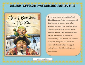 How I Became a Pirate - Cause and Effect