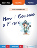 How I Became a Pirate  Lesson Plans & Activities Package,