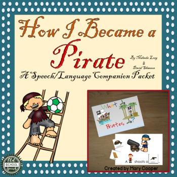 How I Became a Pirate: Speech/Language Companion