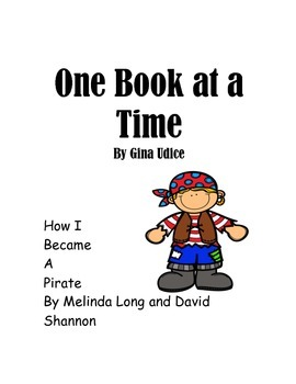 How I Became a Pirate by Melinda Long and David Shannon