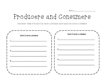 How I Can Be A Producer and a Consumer
