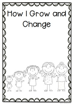 How I Change and Grow Mini Book: Lifecycles