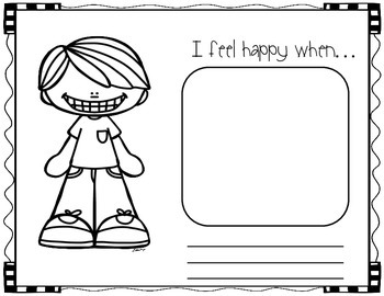 FREE How I Feel Book (Getting to Know Your Class)