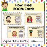 How I Feel, Boom Cards for Social Emotional Learning