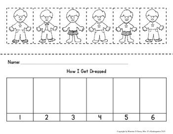 How I Get Dressed, A Differentiated Sequencing Activity