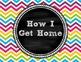 How I Get Home Chalkboard Theme