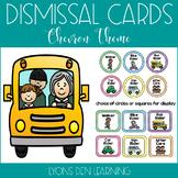 How I Get Home Dismissal Chart - Bright Chevron Theme