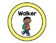 How I Get Home Dismissal Chart - Bright Polka Dot Theme