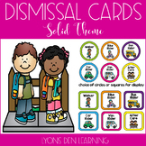 How I Get Home Dismissal Chart - Bright, Solid Theme