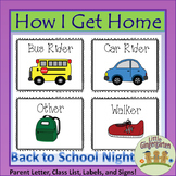 How I Get Home Dismissal Chart and Forms for Back to School
