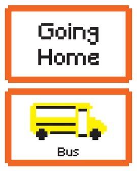 How I Go Home Clip Chart