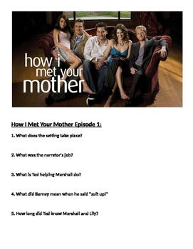 How I Met Your Mother Episode 1