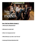 How I Met Your Mother Episode 1