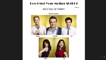 How I Met Your Mother S01E09 - HIMYM comprehension activity
