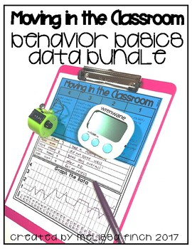 How I Move In The Classroom- Behavior Basics Data Bundle