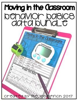 How I Move In The Classroom- Behavior Basics Data