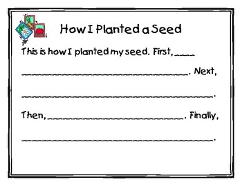 How I Planted a Seed