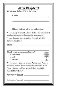 How I Saved Hanukkah (Amy Goldman Koss) Novel Study / Comprehension (28 pages)