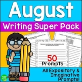 August Seasonal Writing Prompts