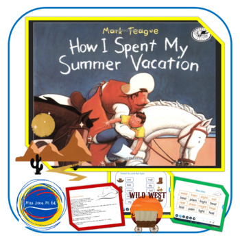How I Spent My Summer Vacation - Lesson Plan
