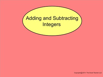 How I Teach Add and Subtract Integers Part 1