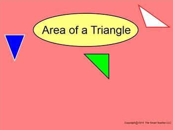 How I Teach Area of a Triangle
