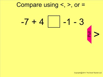 How I Teach Comparing and Ordering Integers