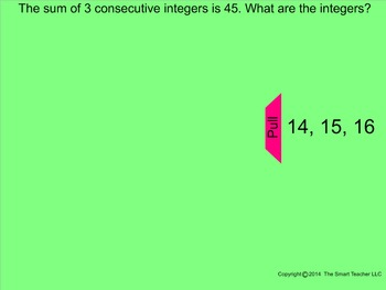 How I Teach Consecutive Integers